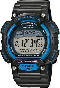 Casio Original New STL-S100H-2A Tough Solar Power Digital Watch STL-S100 Blue