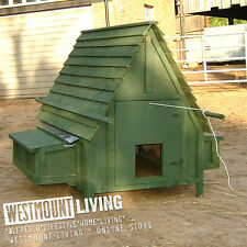 NEW 5 x 5 FT 5x5 LARGE 20 BIRD WOODEN CHICKEN COOP POULTRY HEN HOUSE