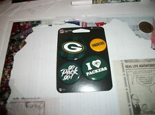 GREEN BAY PACKERS 4 PACK  PIN SET