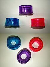 Silicon ERSATZMANSCHETTE Potenzpumpe Penispumpe 3er Set Ø 2,5/3,0/3,5 cm Innen