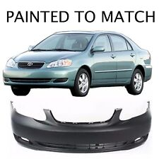 Painted to Match -  2005 2006 2007 2008 Toyota Corolla Base Front Bumper