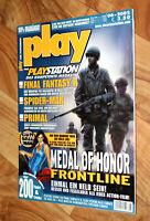 2002 Playstation Magazin Dino Stalker Sly Cooper Indiana Jones Medal of Honor