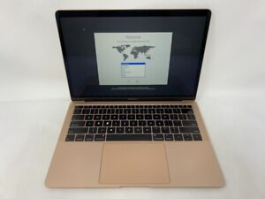 MacBook Air 13 Gold 2018 MRE82LL/A 1.6GHz i5 8GB 128GB SSD - Broken Key