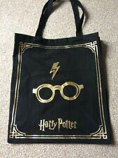 Harry Potter Tote Shopping Bag Reusable Black Primark Women's Ladies