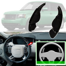 For Land Rover Range Rover Steering Wheel DSG Paddle Shifters Extension Black