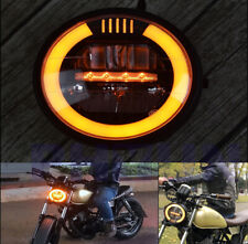 6.8 inch Vintage Motorcycle LED Headlight Refit Headlamp kits For Cafe Racer