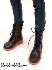 1/3 bjd sd13 sd17 boy doll shoes brown martin boots super dollfie luts ship US