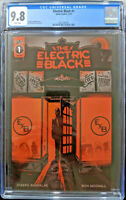 The Electric Black #1 Schmalke Woodall CGC 9.8 Scout Comics