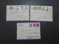 Finland 5 BETTER 1951 / 1952 Covers - M297