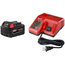 New Milwaukee M18 XC 5.0 Ah Battery 48-11-1850 & 1 Charger 48-59-1812