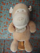 "Russ Berrie simply natural  ECO-Friendly monkey soft puppet with tags 13"" approx"