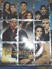 Twilight Saga Breaking Down Part 2 Complete set 1-72