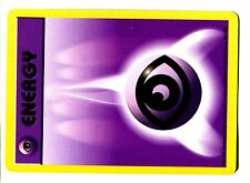 POKEMON BASE SERIE English 4th Edition CARD 2000 N° 101/102 PSY ENERGY