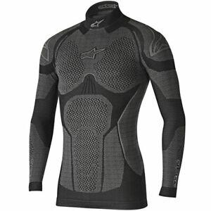 Alpinestars Ride Tech Winter Long Sleeves Moto Base Layer Top  Black / Grey