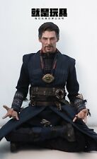 JUST A TOY 1/6th Soldier Male Head Sculpt Meditation Doctor Strange Closed Eyes