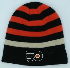 Sporting Goods Nhl Philadelphia Flyers Reebok Cuffless Winter Knit Hat Cap Beanie New To Have A Unique National Style Memorabilia