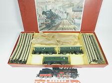 Aj899-3# Märklin h0/ac startset 3103 con máquina de vapor FM 800,3003+ coche + vías