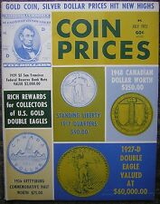 July, 1973 COIN PRICES Magazine - Gold Coin, Silver Dollar Hit New Highs