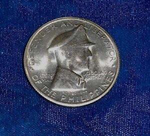 Philippines 1947-S silver MacArthur commemorative peso