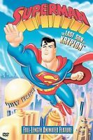 Superman: The Last Son of Krypton (DVD, 2004) full screen, free shipping