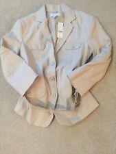 NWT New York & Company Tan  Blazer Jacket Size 6 Retail 84.95