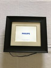 "Philips Home Essentials Digital LCD Photo Frame 7"" Black Frame SPF3007D/G7 -USED"