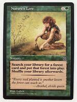 ⭐️ Nature's Lore Portal Second Age set card MTG Magic: The Gathering 1998 🎏