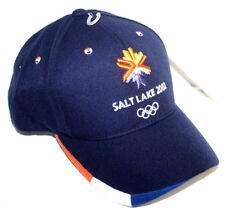 NWT American Needle Adult 2002 Salt Lake City Olympics Dark Blue Adjustable