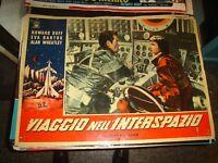 Viaje en el Espacio Ultraterrestre Fotobusta Original 1959 Duff Bartok Tipo Y