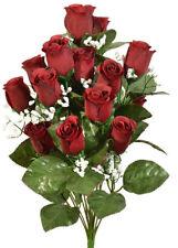 5pcs 10cm Artificial Big Rose Flower Heads Bridal Wedding Decor DIY Lots BMHS19