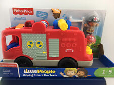 Little People Helping Others Fire Truck Large Vehicle