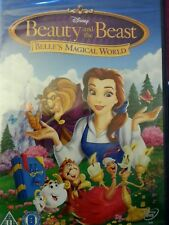 dvd walt Disneys beauty and the beast belle's magical world new and sealed