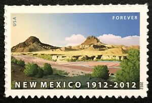 2012 Scott #4591 - Forever - NEW MEXICO STATEHOOD - Single Stamp - Mint NH
