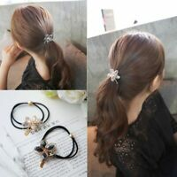 elastische zubehör gummi florale strass - stirnband blume haar seil pearl shell