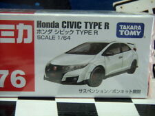 TOMICA #76 HONDA CIVIC TYPE R 1/64 SCALE NEW IN BOX
