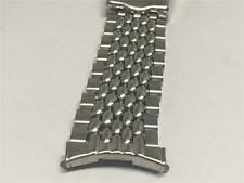 VINTAGE MANS PRE-OWNED SPEIDEL BEADS OF RICE WATCH BAND 18.50MM CURVED ENDS