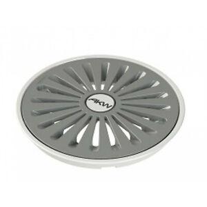 AKW TF75 Waste Trap Cover Grey Tuff Form Bathroom Shower Wetroom Floor