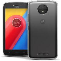 Funda TPU Gel Skin Carcasa para Motorola Moto C Plus (Lenovo C+) Case Cover