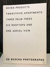 Ed Ruscha Photographs SEVEN PRODUCTS Gagosian Gallery 2003