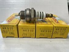 NOS Bosch Spark plugs plug x4 WR9EO WR 9 EO