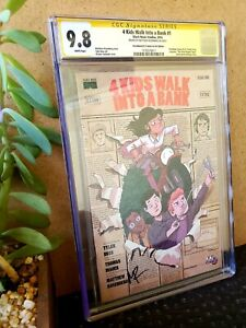 4 Kids Walk into a Bank CGC Signed 9.8