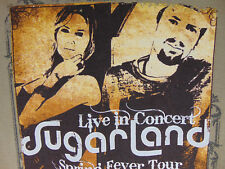 SugarLand  Spring Fever Tour   T Shirt   size M