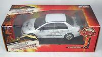 White Pearl Fast & Furious Mitsubishi 1:18 Lancer Evo 7 VII Toy Car Tokyo Drift