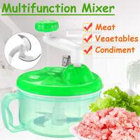Meat Chopper Manual Vegetables Food Cutter Salad Maker Grinder Multifunction
