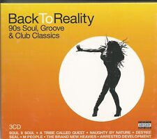 BACK TO REALITY - 90s Soul - Groove & Club Classics - 3 CD - BRAND NEW