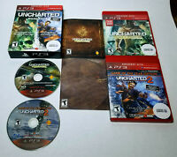 Uncharted Dual Pack (Sony PlayStation 3, 2011) CIB Complete