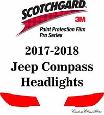 3M Scotchgard Paint Protection Film Pro Series Clear Bra 2017 2018 Jeep Compass