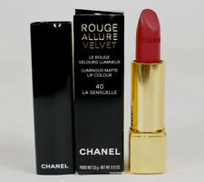 Chanel Rouge Allure Velvet Luminous Matte Lip Colour 40 La Sensuelle NIB