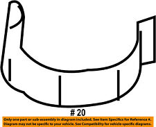 FORD OEM Rear Fender Panel-Bed-Fuel Door Gas Cap Hatch Spring E43Z54405A24A