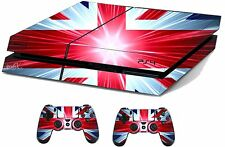 Union Jack Adesivo / Pelle PS4 PLAYSTATION 4 CONSOLE / controller remoto, ps4sk12